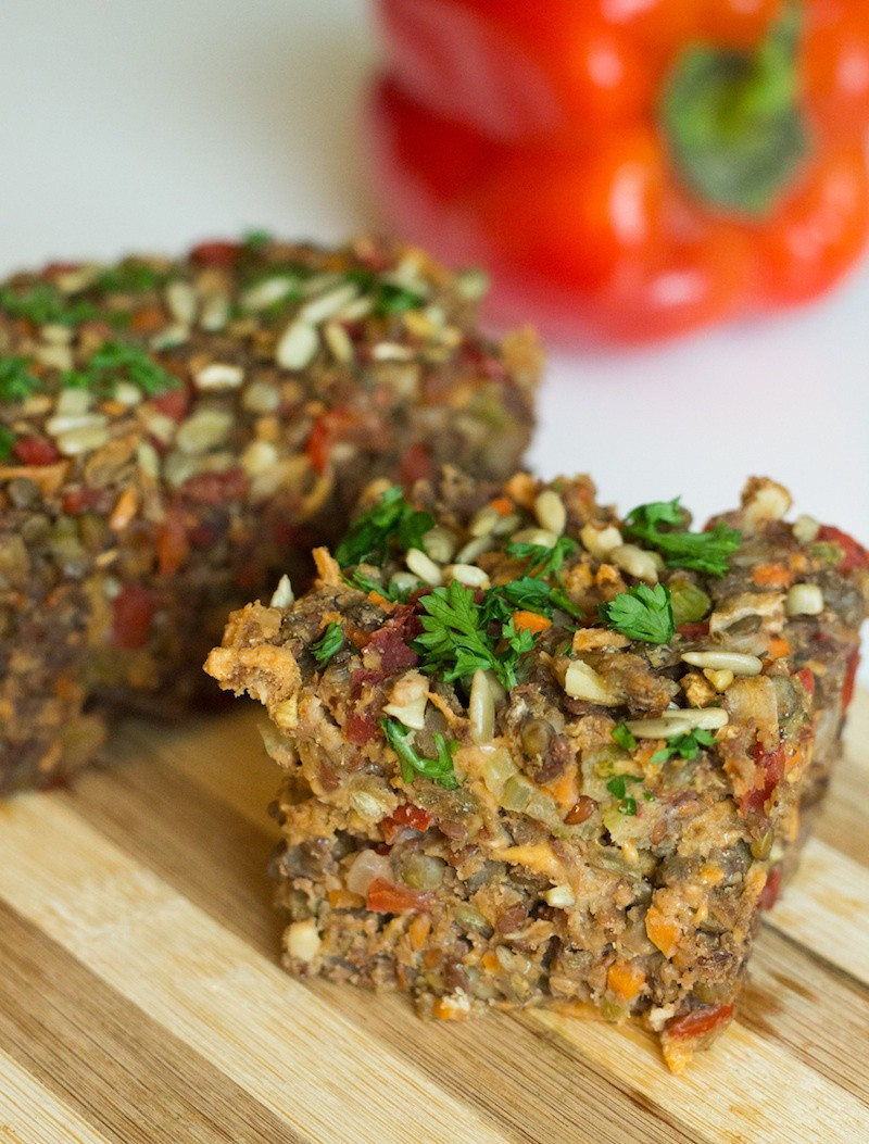 Veggie Nut and Seed Loaf
