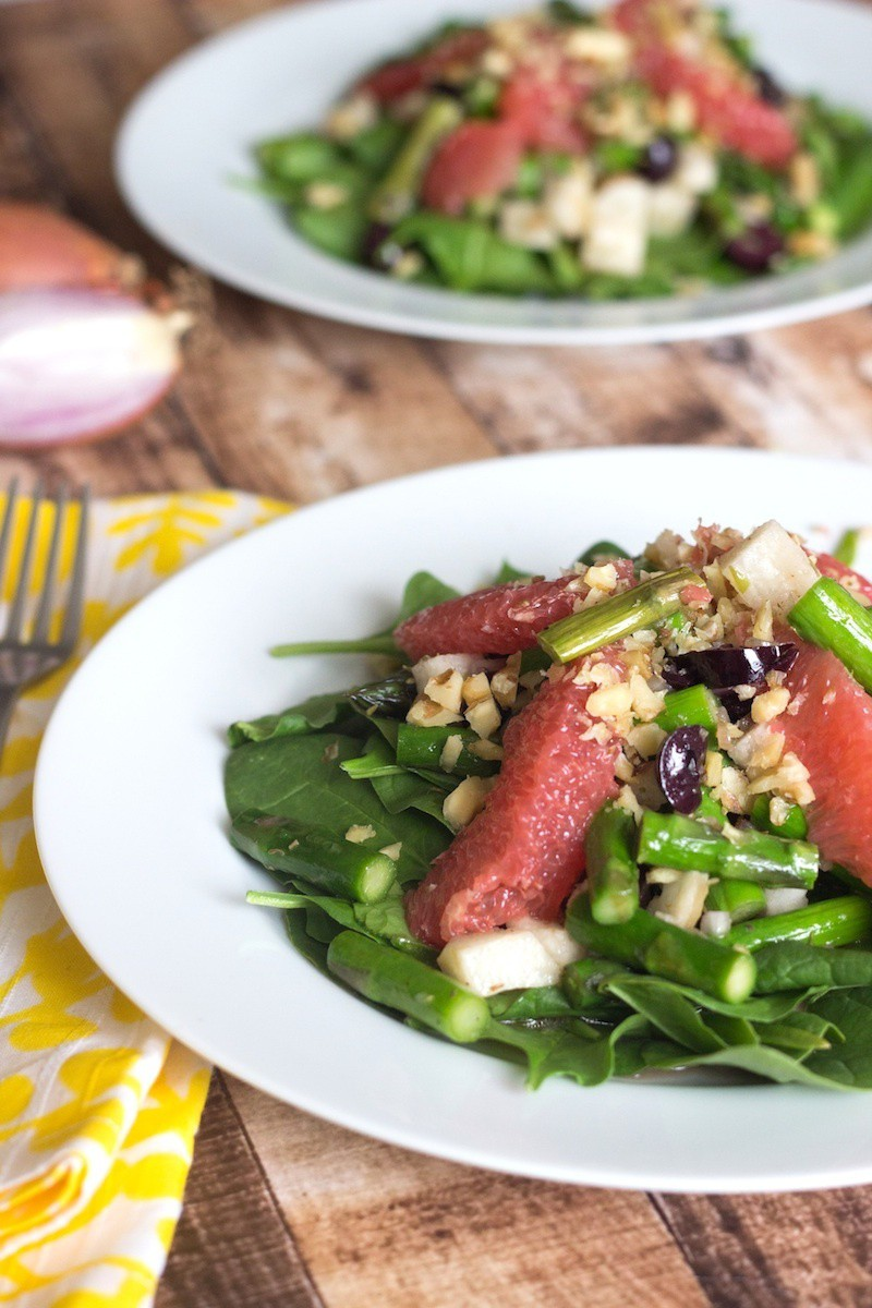 asparagus grapefruit jicama salad