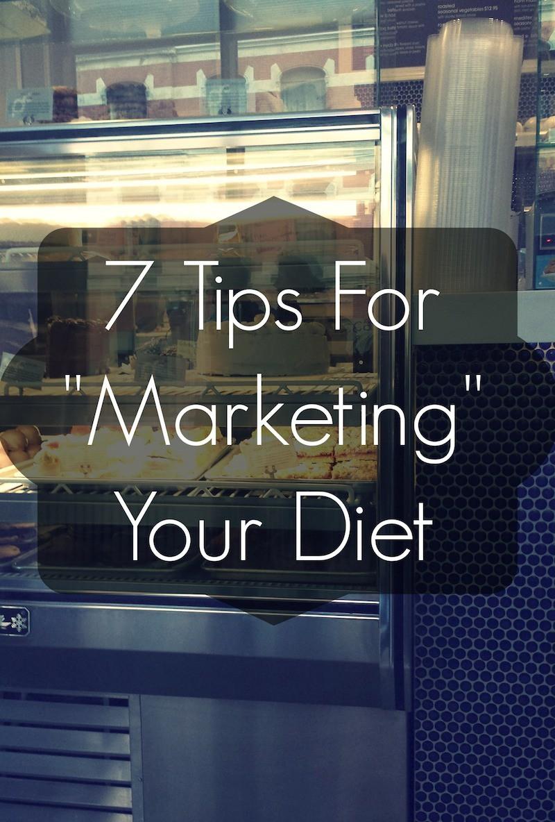 """7 tips for """"marketing"""" your vegan diet"""