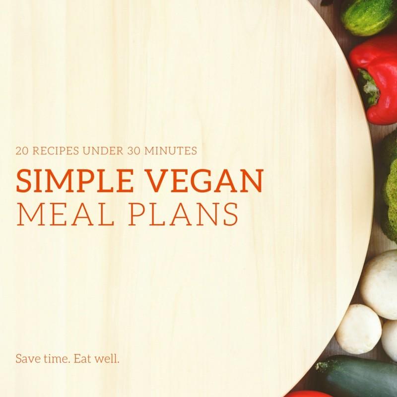 simple vegan meal plans