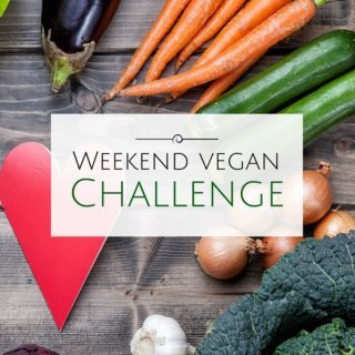 The Weekend Vegan Challenge starts soon!