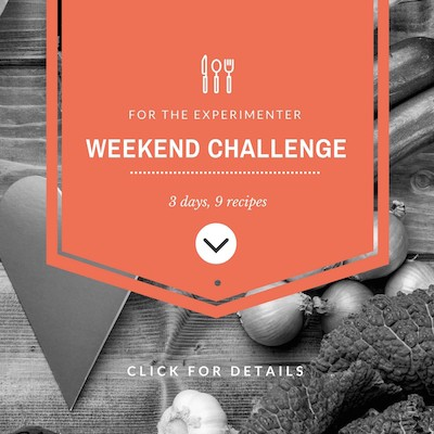 weekend vegan challenge