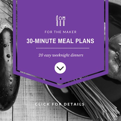 30-Minute Vegan Meal Plans