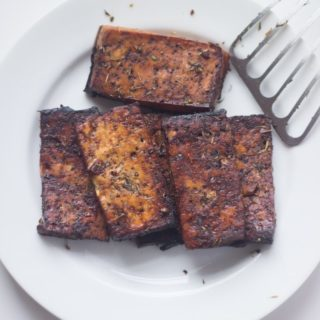 Balsamic Marinated Tofu