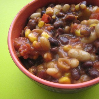 Ultimate Veggie Bean Chili Burrito Filling