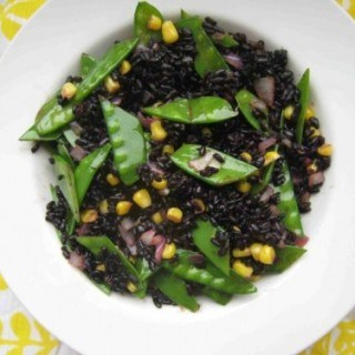 Forbidden Black Rice Salad with Citrus