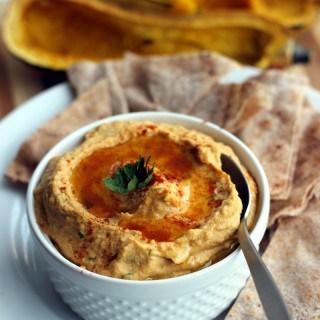 Delicata Squash Chickpea Hummus
