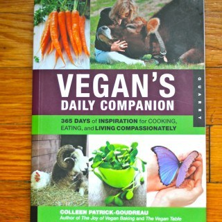 Book Review: Vegan's Daily Companion by Colleen Patrick-Goudreau