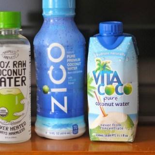 Coconut Water Taste Test