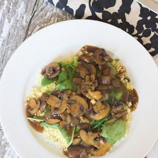 Easy Vegan Mushroom Gravy for Everyday