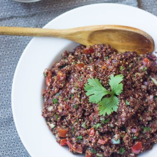 Salsa Fresca Red Quinoa