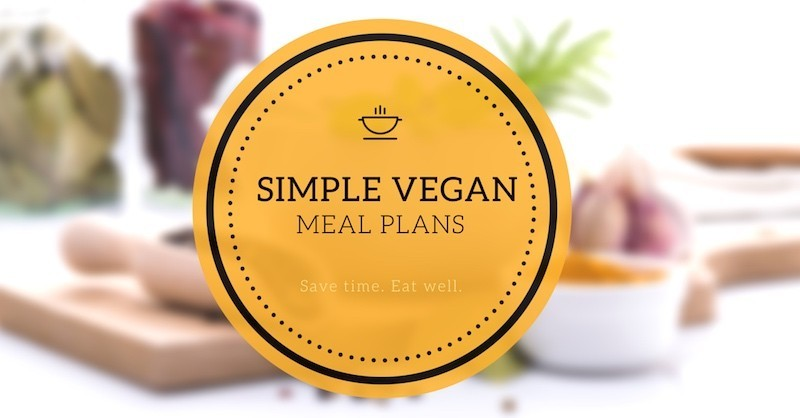 simple vegan meal plans