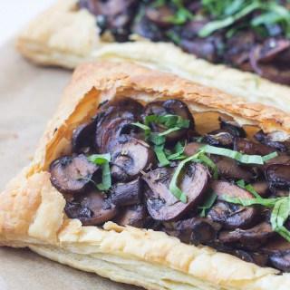 Savory Mushroom Tart