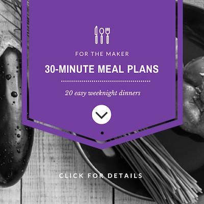 30-Minute Vegan Meal Plans